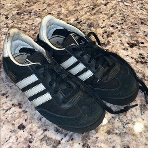 Toddler boys Adidas sneakers size 9